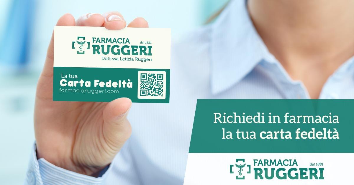 Carta Fedeltà - Farmacia Ruggeri Palermo